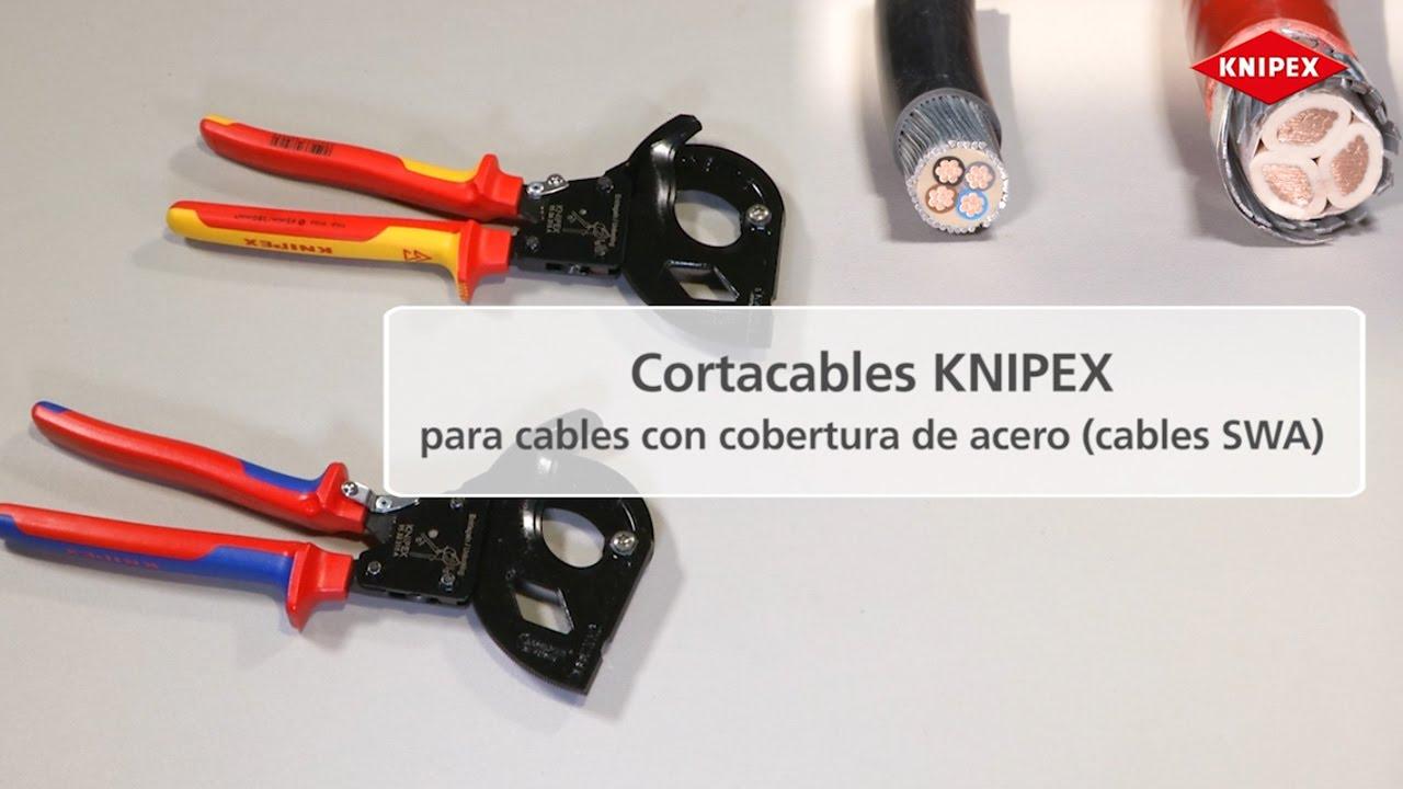 Cortacables para cables con cobertura de acero cable swa - Cables de acero ...