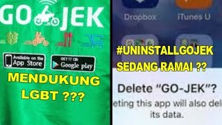 Download Video GoJek Mendukung LGBT Tagar #UninstallGojek Langsung Heboh MP3 3GP MP4