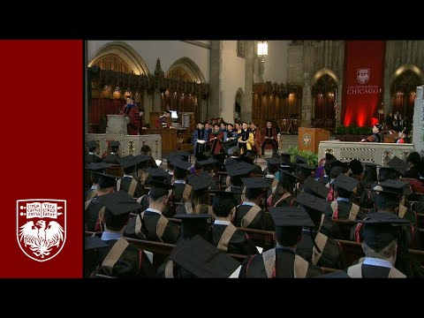 The 529th Convocation, University Ceremony - The University of Chicago