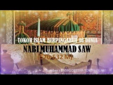 TOKOH ISLAM BERPENGARUH DI DUNIA - Nabi Muhammad SAW.