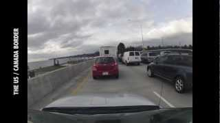 Time Lapse | Drive from Seattle to Vancouver in 3 minutes!