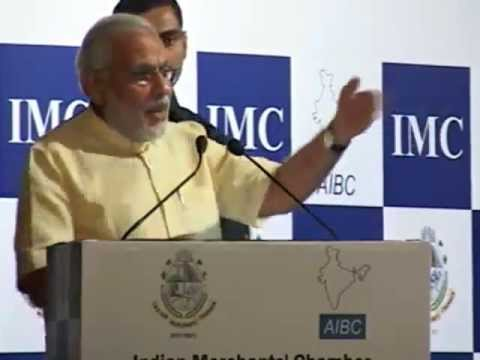 Govt. should be driven by institutions and not individuals: Shri Modi at IMC Interactive Meet