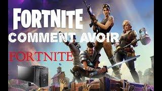 COMMENT INSTALLER FORTNITE SUR PC [TUTO FR 2018] [HD]