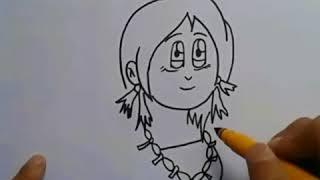Ao Naga Wort in Cartoon-Kunst