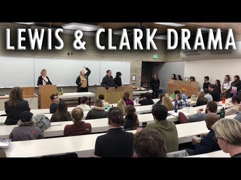 Christina Hoff Sommers - Lewis & Clark Law School Drama