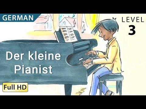 """Der kleine Pianist : Deutsch lernen mit Untertiteln - Eine Geschichte für Kinder """"BookBox.com"""""""