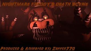 [SFM] FNaF 4 Nightmare Freddy's Death Scene