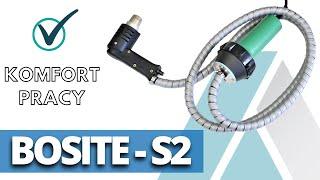Video: Spawarka do plastiku Bosite-S / S2 motoryzacja