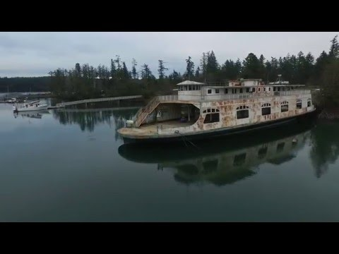 Anderson Island Oro Bay Ferry | Drone Footage