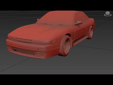Autodesk 3ds Max / Nissan S13 Modding