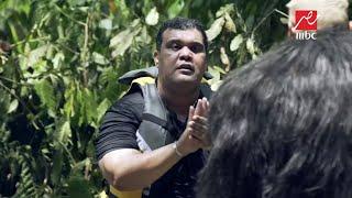 رد فعل أحمد فتحي بعد رؤية رامز جلال في رامز في الشلال .. ألطم على وشي