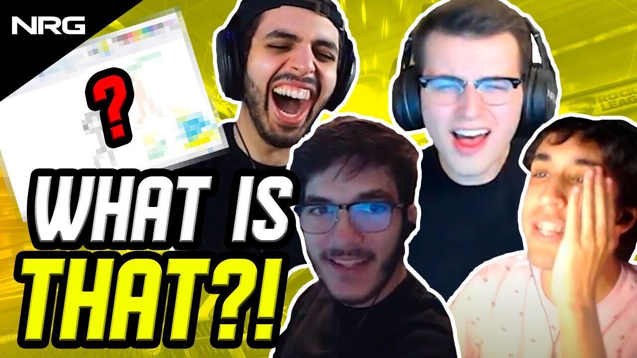 NRG Rocket League Hilarious Pictionary Challenge | SquishyMuffinz, GarrettG, JSTN, Sizz
