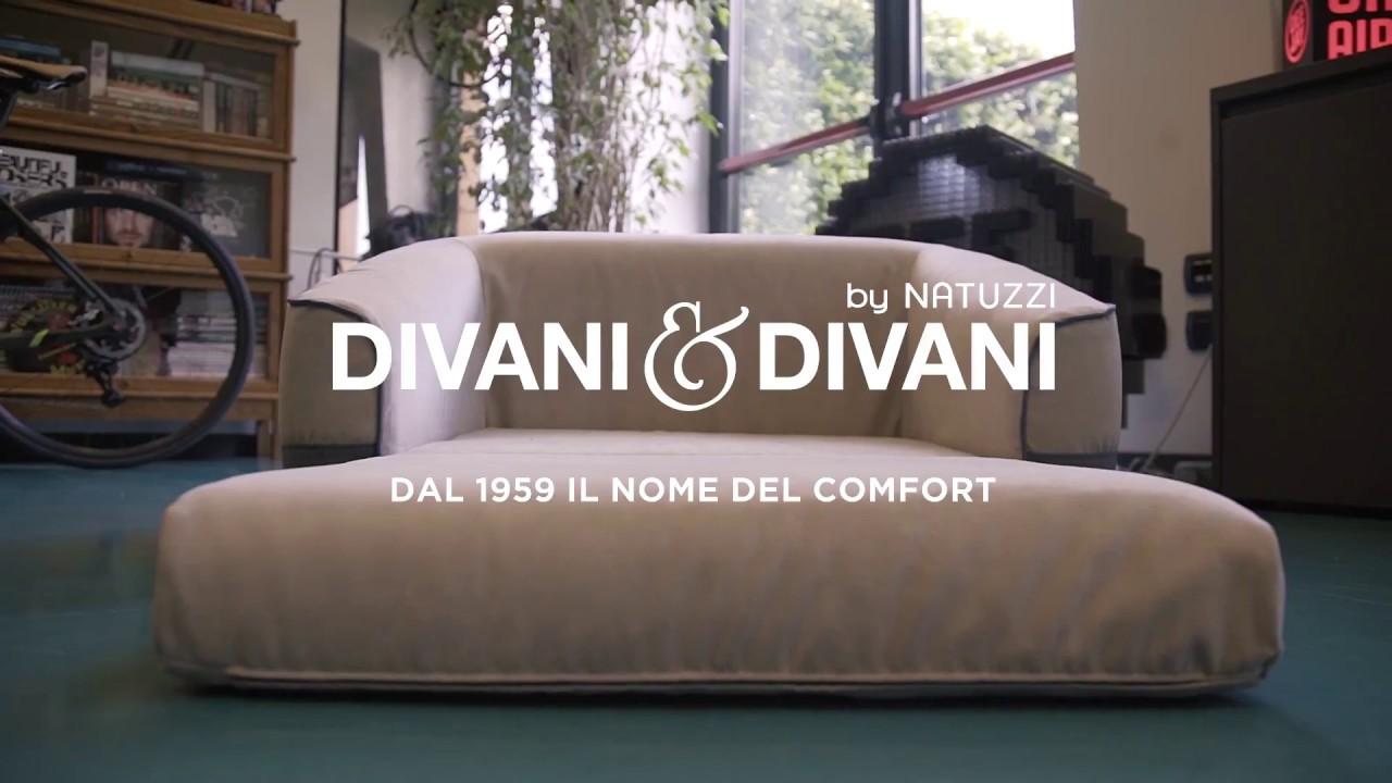 Divani In Pelle Angolari Natuzzi.Divani Divani By Natuzzi Ilde The Brown Dog Youtube