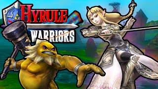 Hyrule Warriors: 2 Player Co-Op! Legend of Zelda Story PART 12 Lake Hylia HD Gameplay Walkthrough