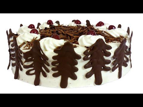 Торт 'Чёрный лес'.