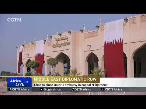 Chad to close Qatar's embassy in capital N'Djamena