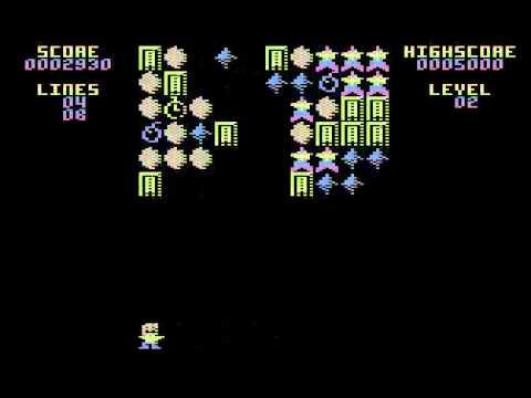 Atari XL/XE - Gem Drop (game)