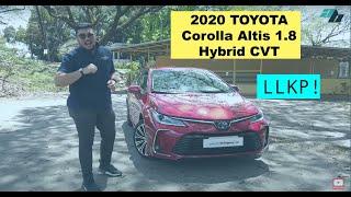 2020 Toyota Corolla Altis 1.8 V Hybrid CVT Review