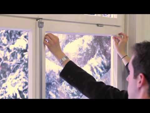 Gut gemocht d-c-fix Energiesparfolie - YouTube AA42