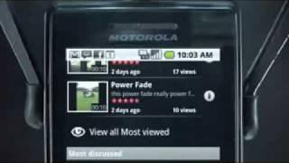 Repeat youtube video Motorola Droid: