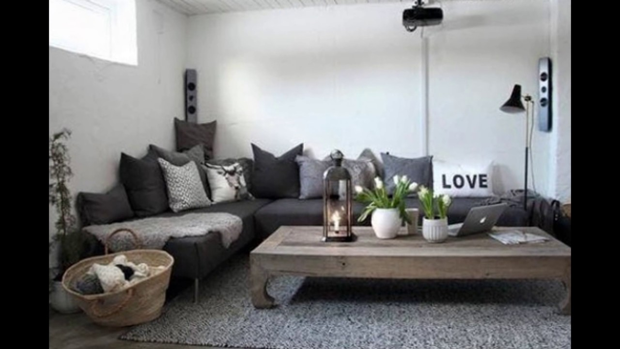 Charcoal Grey Couch Decorating I Decor I Decorative