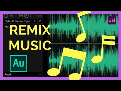 How to Magically Remix your MUSIC to be any length! Adobe Audition CC Tutorial