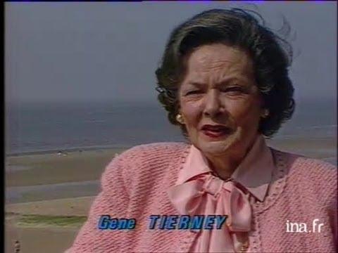Gene TIERNEY à Cabourg