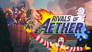 EVERYONE IS HERE: 100% Accurate Fox and Ronald MCDonald Edition [Rivals of Aether Custom Characters]