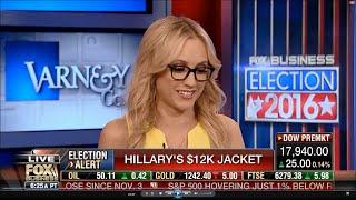 06-07-16 Kat Timpf on Varney & Co - Hillary's $12k Armani Jacket