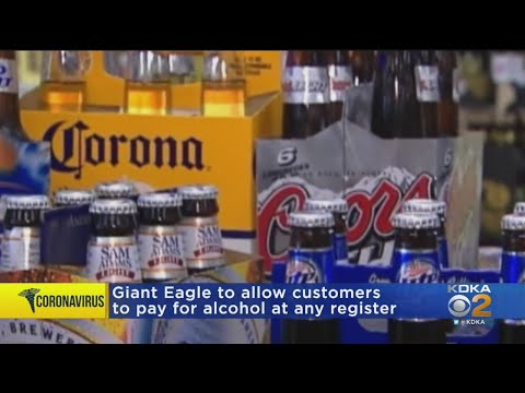 Giant Eagle To Allow Alcohol Purchases At Any Register