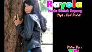 Rayola - Rindu Bisiak Sayang (Official Music Video)