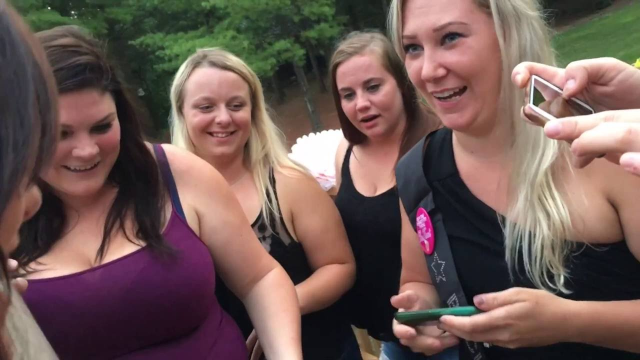 Bachelorette Party in GB - YouTube