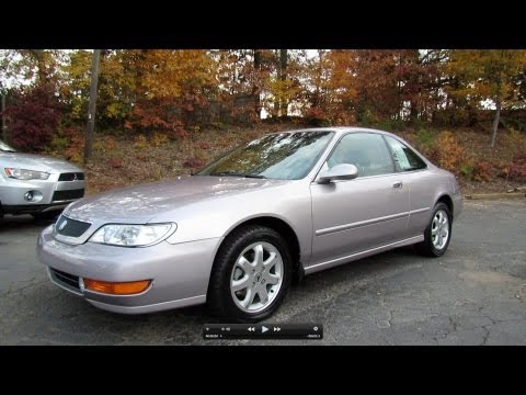 1998 Acura CL 3.0 Premium Start Up, Exhaust, And In Depth Tour