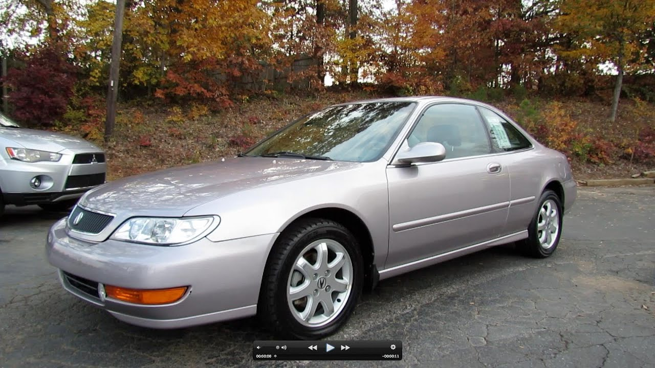hight resolution of 1998 acura cl 3 0 premium start up exhaust and in depth tour