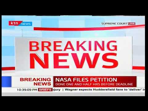 Raila Odinga challenges Uhuru Kenyatta's presidential poll win