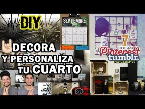 Diy decora y personaliza tu cuarto estilo tumblr y for Decora tu habitacion online