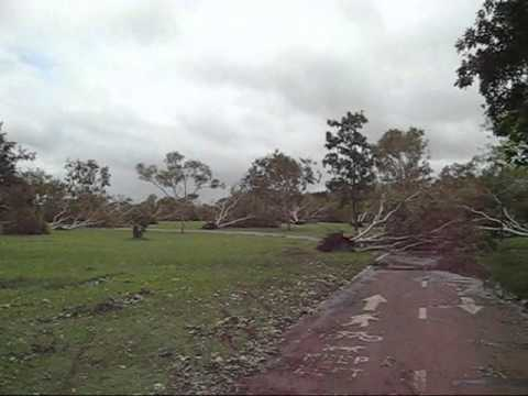 Nightcliff foreshore after Tropical Cyclone Carlos