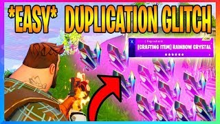 *NEW* STW DUPLICATION GLITCH | Unlimited Rainbow Crystal (Fortnite Glitches) Save The World