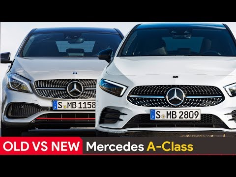 Old Vs New Mercedes A Class ► See The Differences