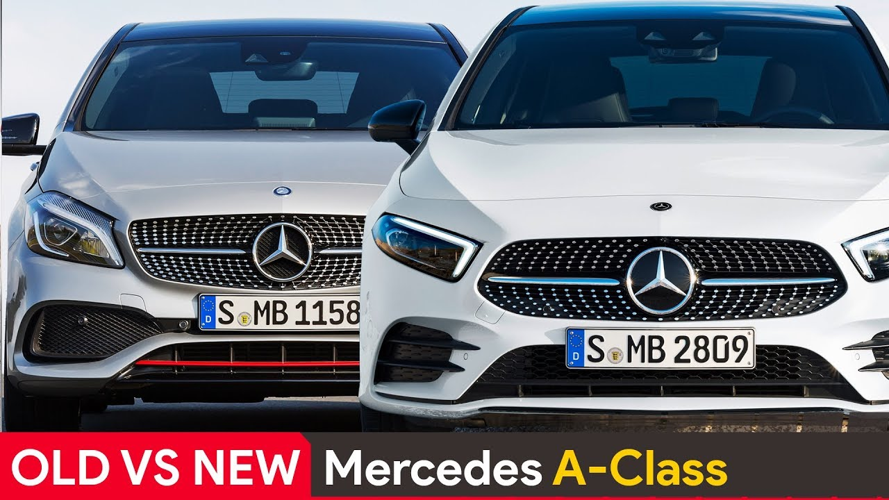 Old Vs New Mercedes A Class See The Differences