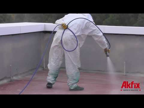 Polyurea Application Step by Step from Akfix Coating