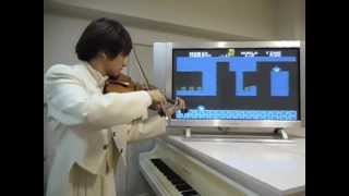 Super Mario Bros - música y sonidos hechos con un violin