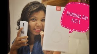 Indian Girl Unboxing One Plus 6