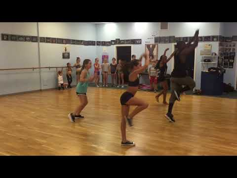 Ian McKenzie Junior Hip Hop Master Class (September 2016)