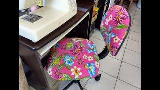 Aprenda a Forrar ou Customizar sua Cadeira com Chita