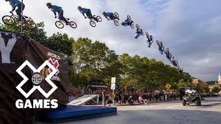 Kevin Robinson: 2016 World Record BMX Backflip - K-Rob flips Providence | World of X Games