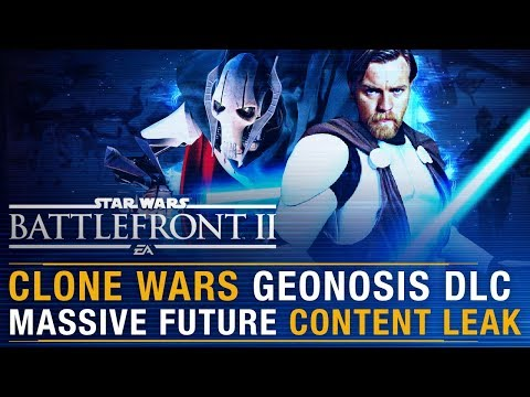 MASSIVE Clone Wars Geonosis DLC Leak + Current State & Future of Game Explained | Battlefront Update