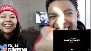 OMG WAYNE IS THE GOAT!!! LIL WAYNE BANK ACCOUNT- REACTION