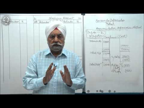 Prov. for Depreciation Accumulated Dep. Method and Assct Disposal AC_Cl XI AC by Dr. Balbir Singh