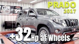 Toyota Prado 2017 2.8 4WD ECU Remap & Dyno